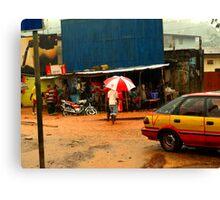 Rain in Freetown II Canvas Print