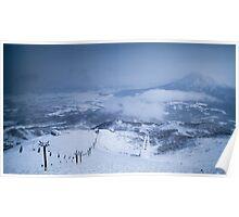 Niseko Skiing, Hokkaido, Japan Poster