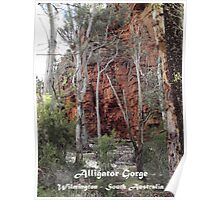 Alligator Gorge - Wilmington South Australia Poster