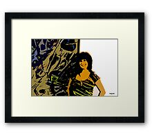 Arts&Graf tiger no wood Framed Print