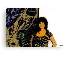 Arts&Graf tiger no wood Canvas Print