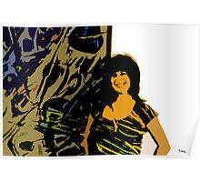 Arts&Graf tiger no wood Poster