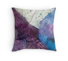Stratification - a layered configuration Throw Pillow