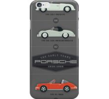 History of the Porsche Sportscar The Early Years iPhone Case/Skin