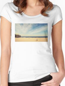 Tamarama Beach Women's Fitted Scoop T-Shirt