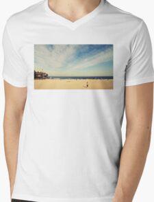 Tamarama Beach Mens V-Neck T-Shirt