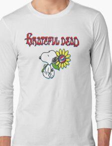 Snoopy flowers Long Sleeve T-Shirt