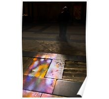 Stained Glass Floor Poster