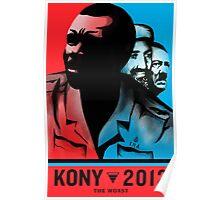 "Kony 2012 ""The Worst War Criminal"" Poster Poster"
