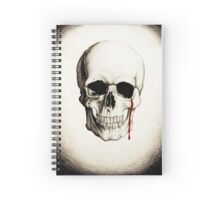 Crying Skull Spiral Notebook