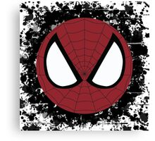 Spider Splatter Canvas Print