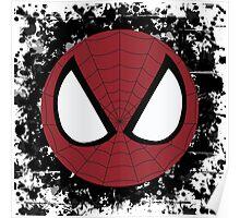 Spider Splatter Poster