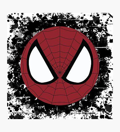 Spider Splatter Photographic Print