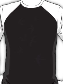 Charcoal Swallows T-Shirt