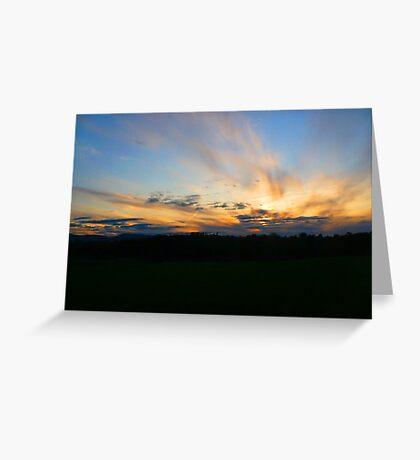 bigger sky Greeting Card