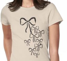 Falling Bows Womens Fitted T-Shirt