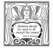 JFK Quote About Libraries Kids Clothes