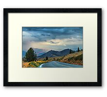Drive Me There Framed Print