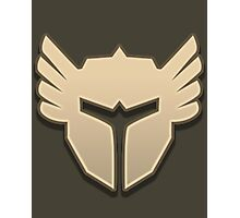 Guild Wars 2 Inspired Warrior logo Photographic Print