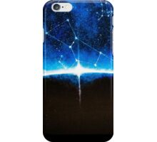 Space Field: Blue Constellations iPhone Case/Skin