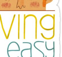 Living is easy with eyes closed Sticker