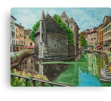 Annecy - The Venice of France Canvas Print