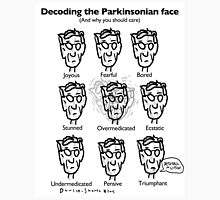 Decoding the Parkinsonian Face Unisex T-Shirt