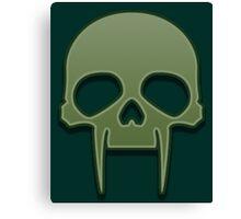 Guild Wars 2 Inspired Necromancer logo Canvas Print