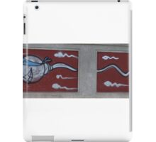 """Super Sperm"" Graffiti iPad Case/Skin"