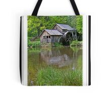 A drive to Mabry Mill Tote Bag