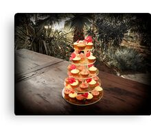 New Age Wedding Cake Canvas Print