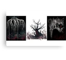 Tree Trilogy Canvas Print