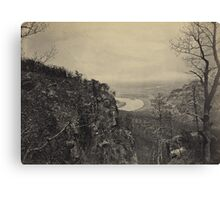 Chattanooga Valley - Lookout Mountain Canvas Print