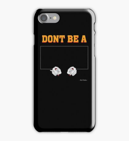 Don't Be a Square / Mia Wallace iPhone Case/Skin