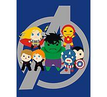 Avengers Assemble (hidden Loki) Photographic Print