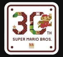 Super Mario 30th Anniversary by drummerockband
