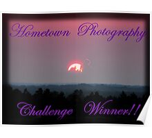 Hometown's Challenge Winner Banner Poster