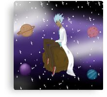 rick in space Canvas Print