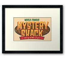 The Mystery Shack Framed Print