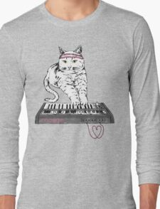 Synth Cat - Moggie Long Sleeve T-Shirt