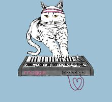 Synth Cat - Moggie Womens Fitted T-Shirt
