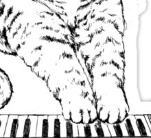 Synth Cat - Moggie Sticker