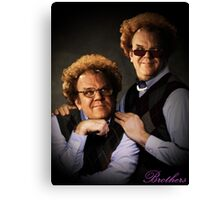 Brule Brothers Portrait Version 1 Canvas Print