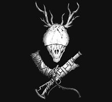 Bloodborne CrossWeapons(white) Unisex T-Shirt