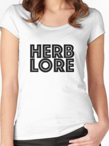 Herb Lore Women's Fitted Scoop T-Shirt