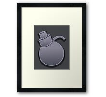 Guild Wars 2 Inspired Engineer logo Framed Print