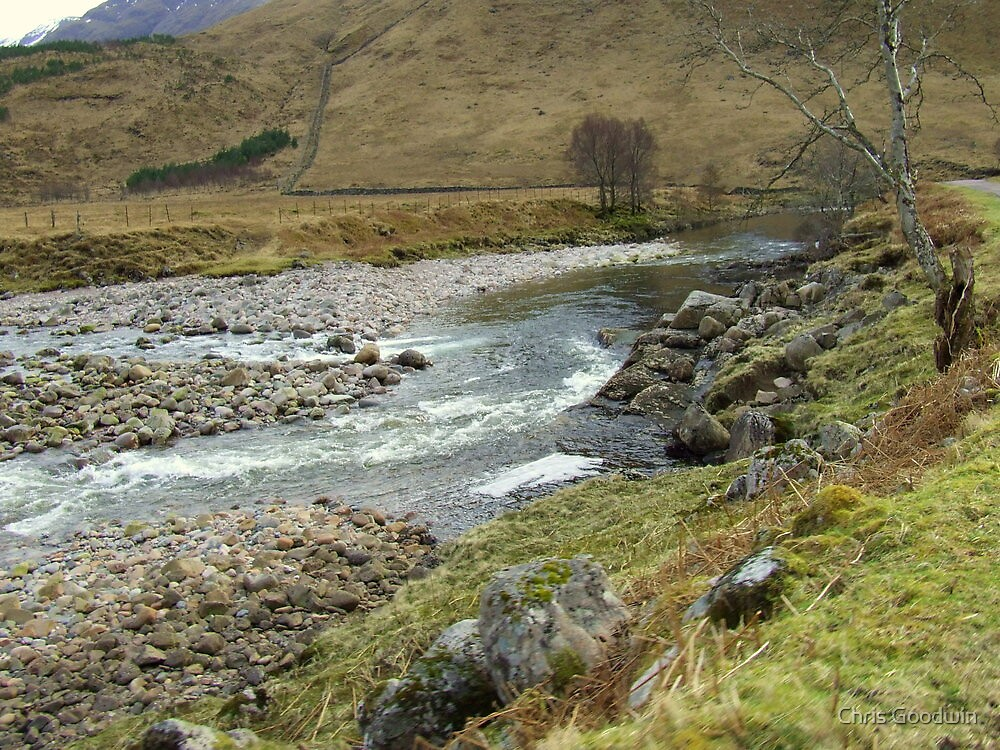 Stoney Water, Glencoe, Scotland by Chris Goodwin