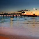 Brighton Jetty Adelaide by Kelvin  Wong
