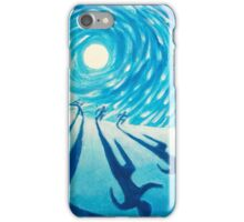 The Chase - Fine Art Painting iPhone Case/Skin