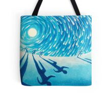 The Chase - Fine Art Painting Tote Bag